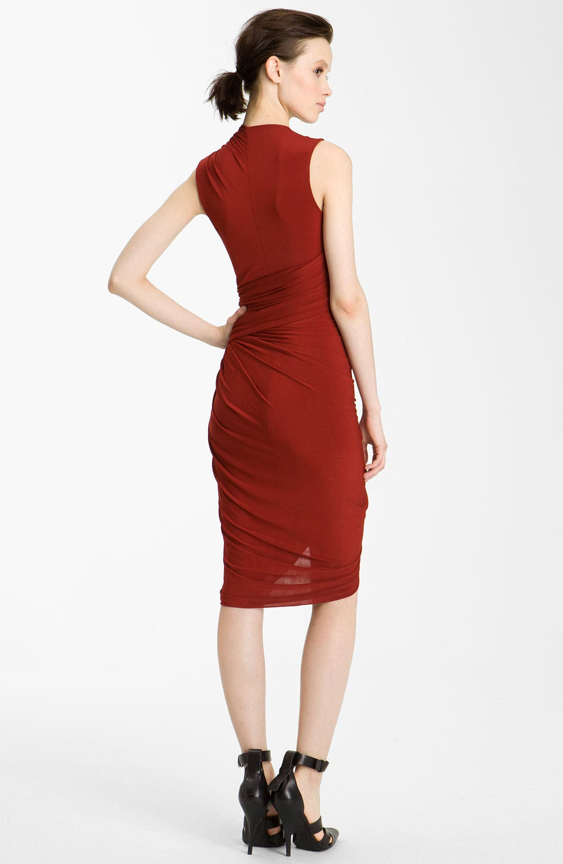 Alternate Image 2  - Alexander Wang Gathered Jersey Dress