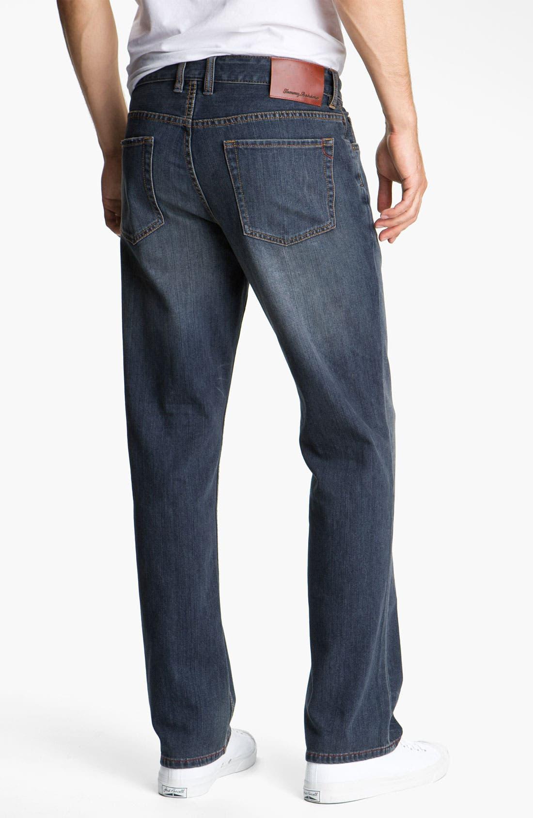 Main Image - Tommy Bahama Denim 'Original Cooper' Jeans (Dark Storm)