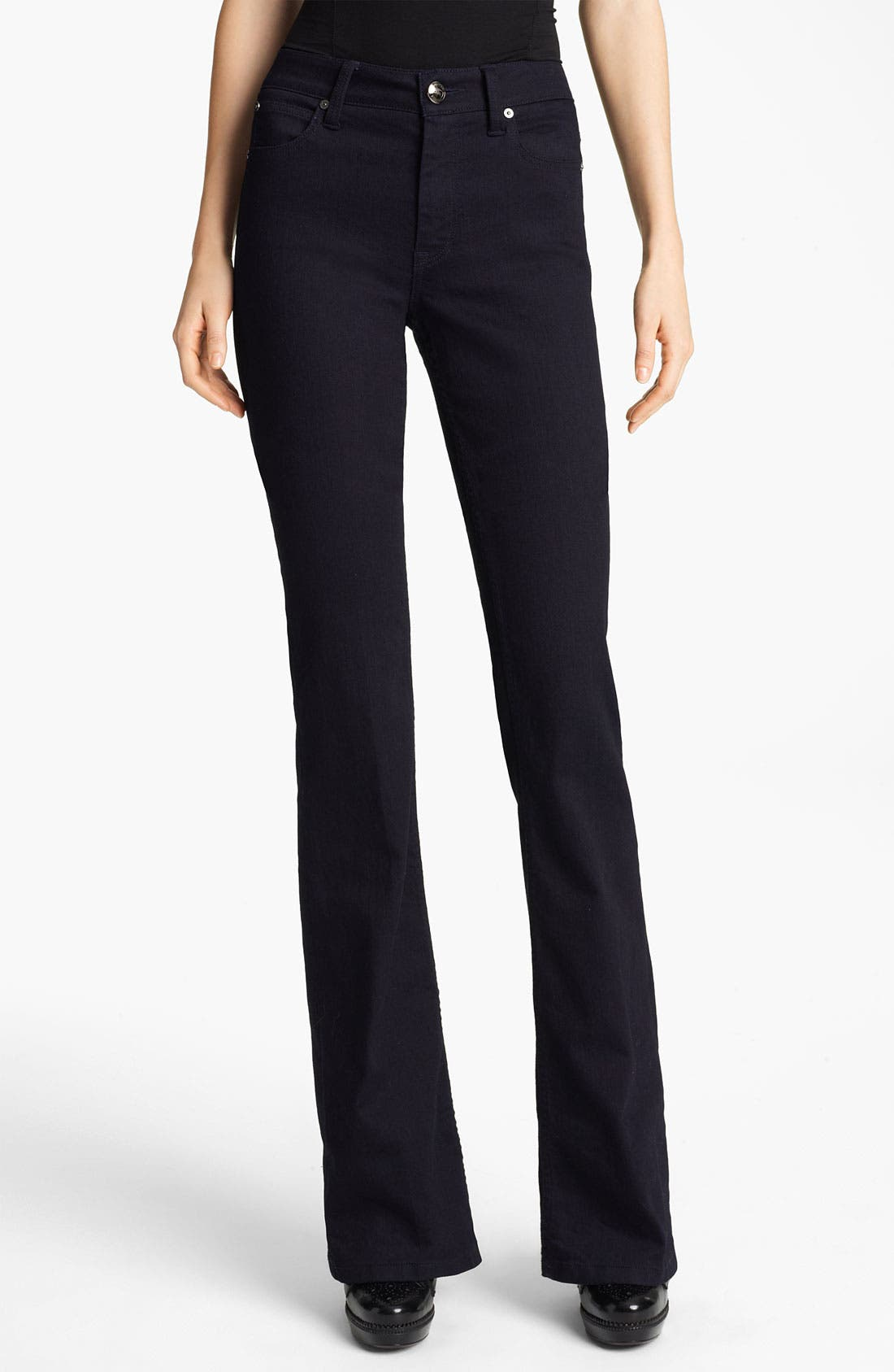 Alternate Image 1 Selected - Burberry London Flare Leg Stretch Jeans