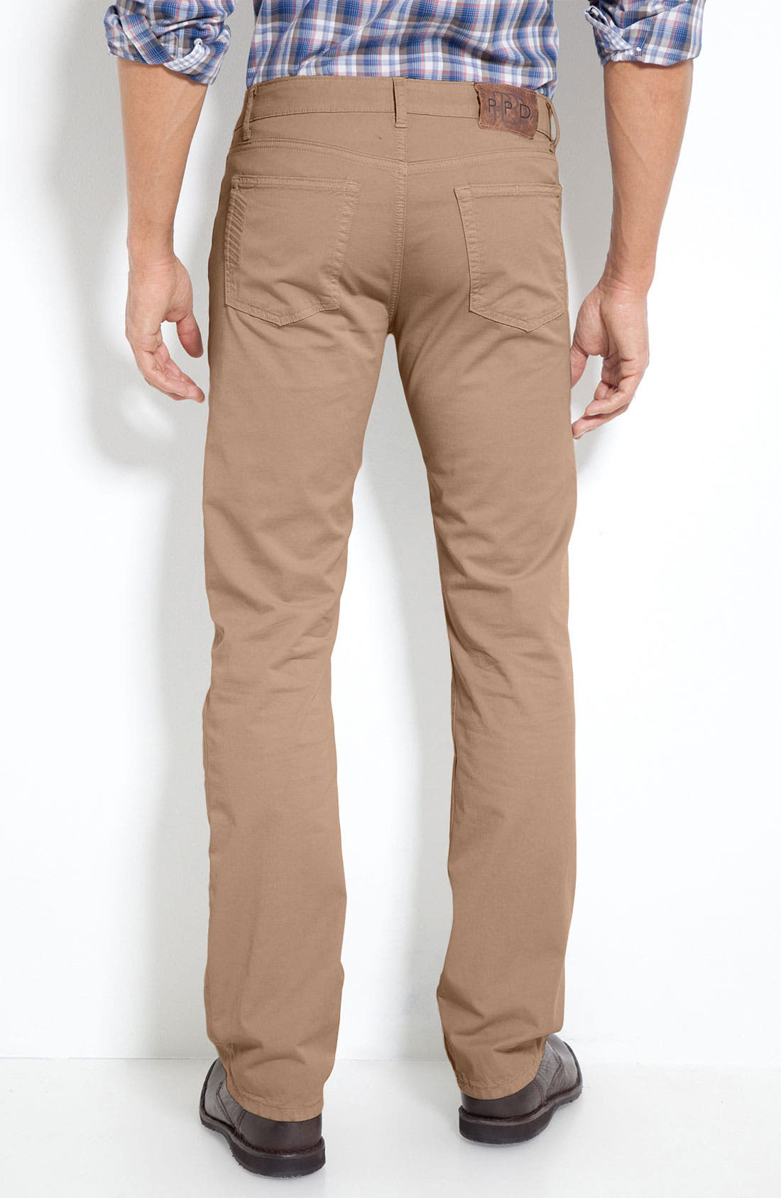 Alternate Image 1 Selected - PAIGE 'Normandie' Slim Straight Leg Pants