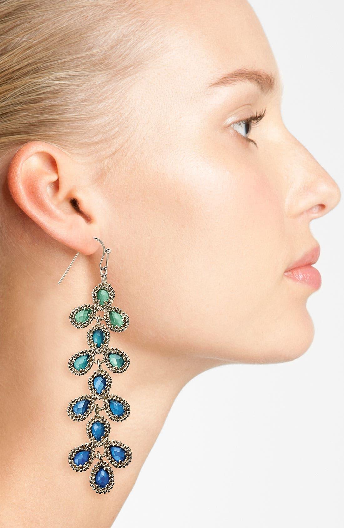 Alternate Image 2  - Kendra Scott 'Nelsie' Linear Statement Earrings