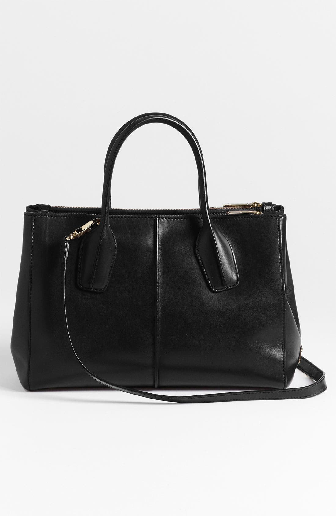 Alternate Image 4  - Tod's 'D-Styling - Small' Leather Shopper