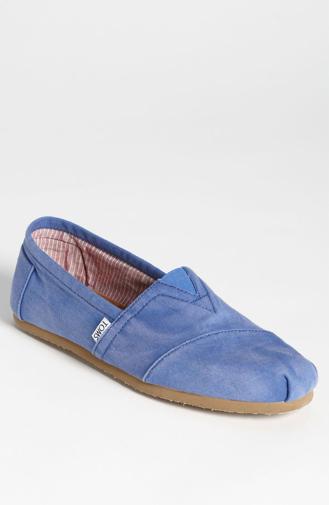 'Classic' Stonewashed Twill Slip-On,                             Main thumbnail 1, color,                             Navy