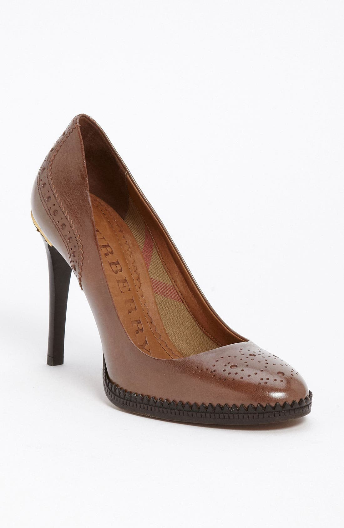 Main Image - Burberry Brogue Pump