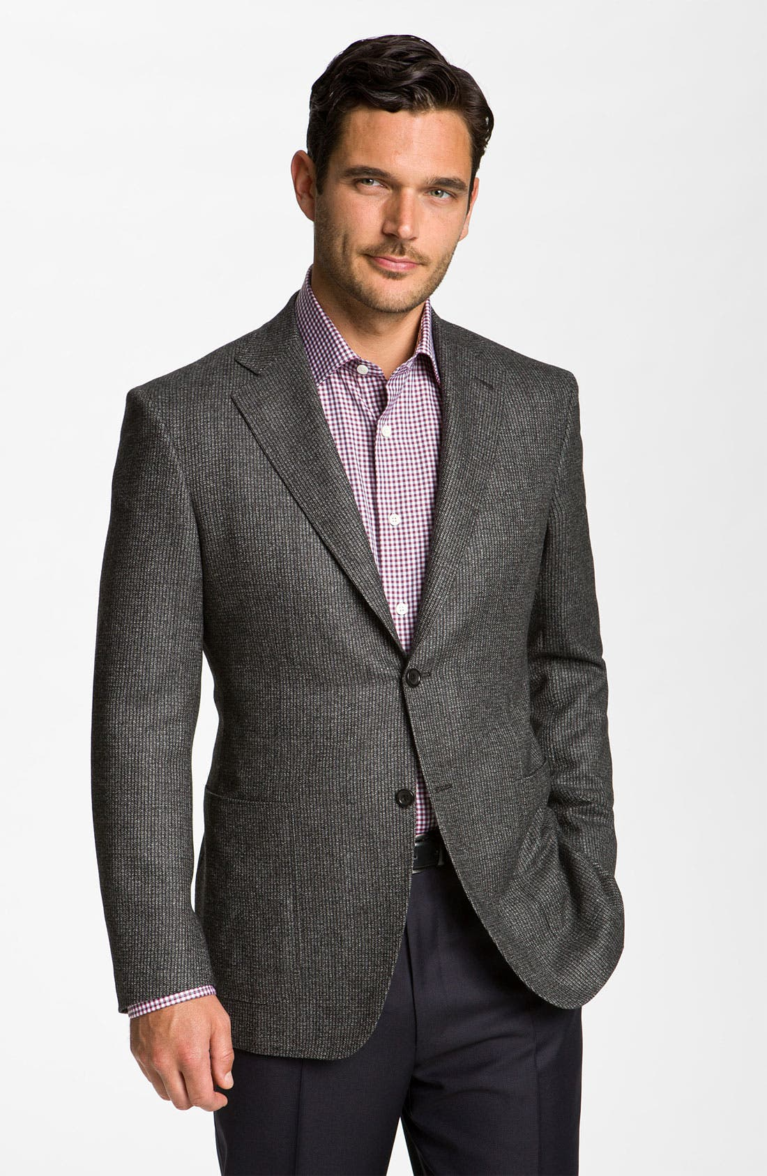 Alternate Image 1 Selected - Canali Wool Blend Sportcoat