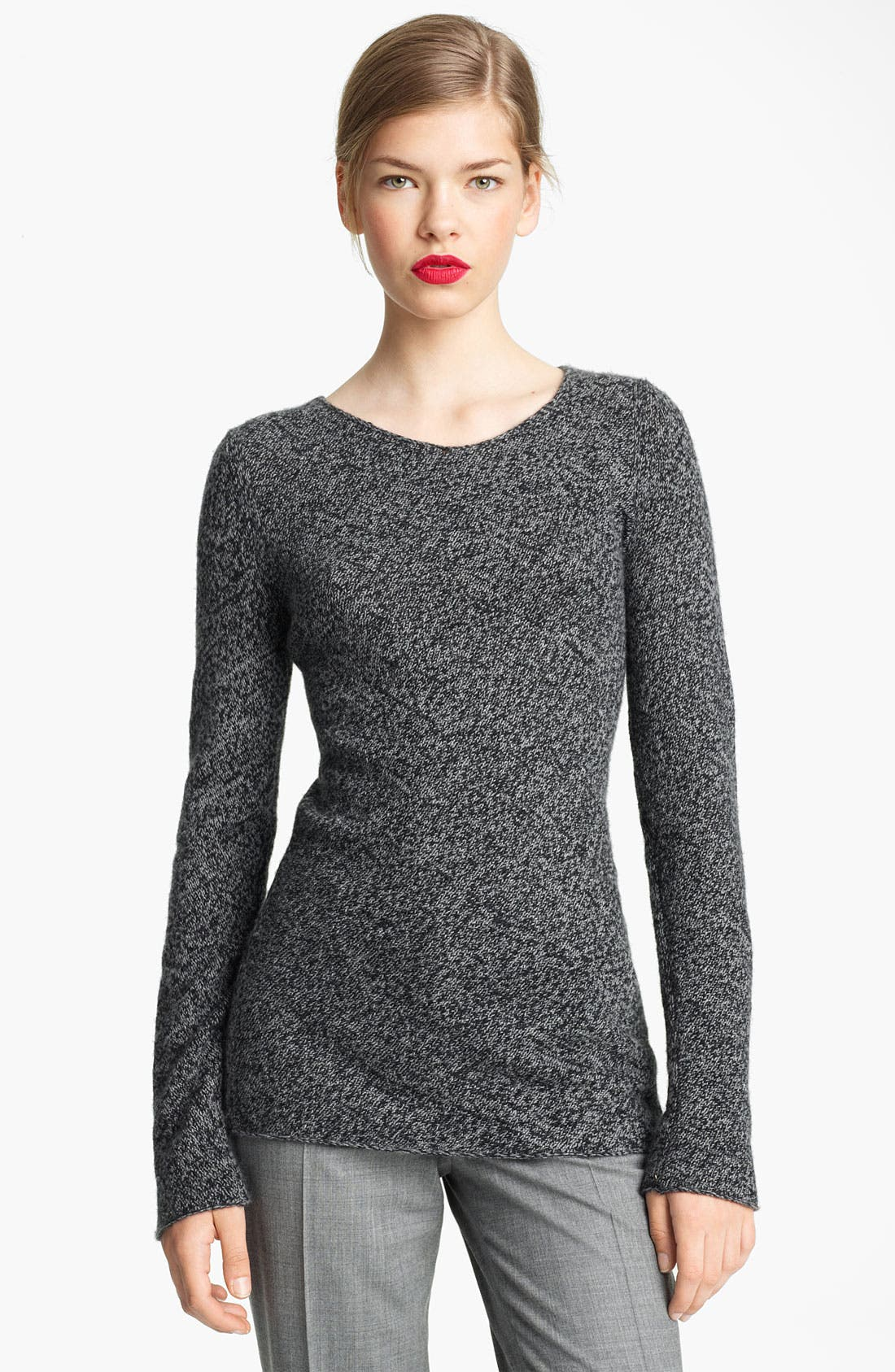 Alternate Image 1 Selected - Michael Kors Marled Cashmere Sweater