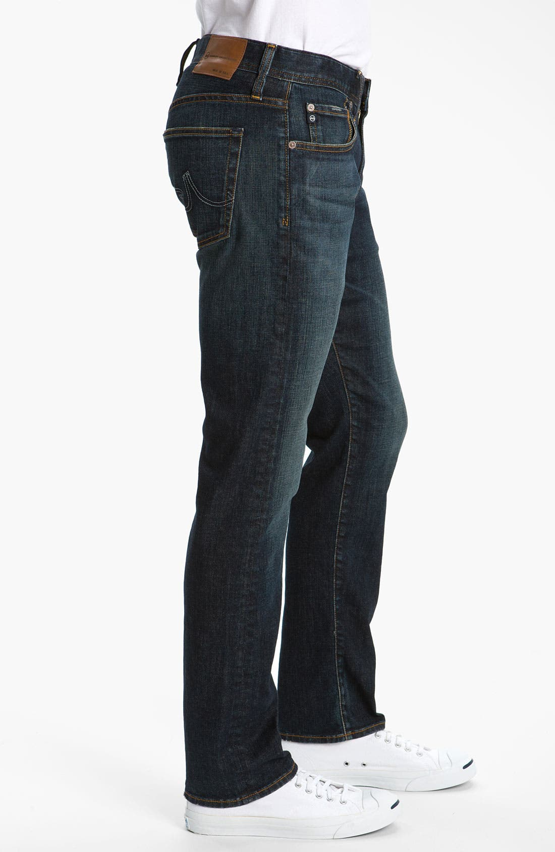 Alternate Image 3  - AG Jeans 'Geffen Easy Slim' Straight Leg Jeans (Roast)