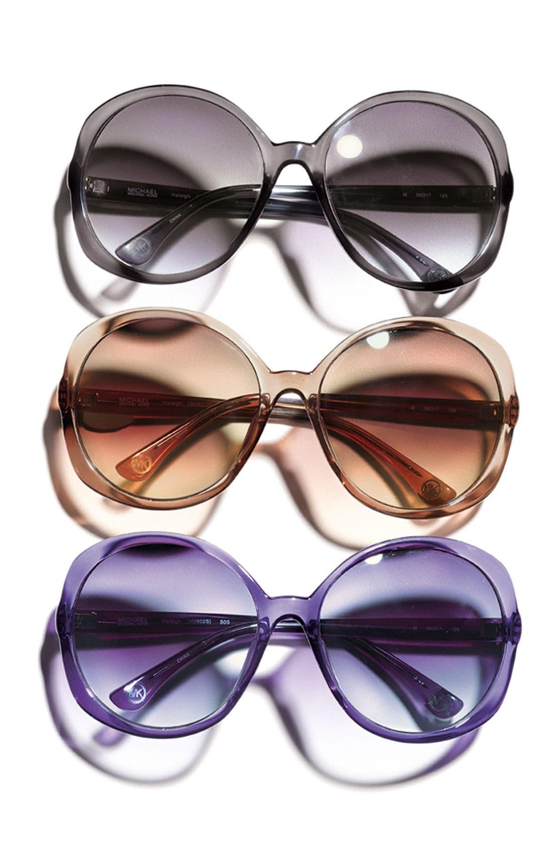 Alternate Image 3  - MICHAEL Michael Kors 58mm Oversized Sunglasses