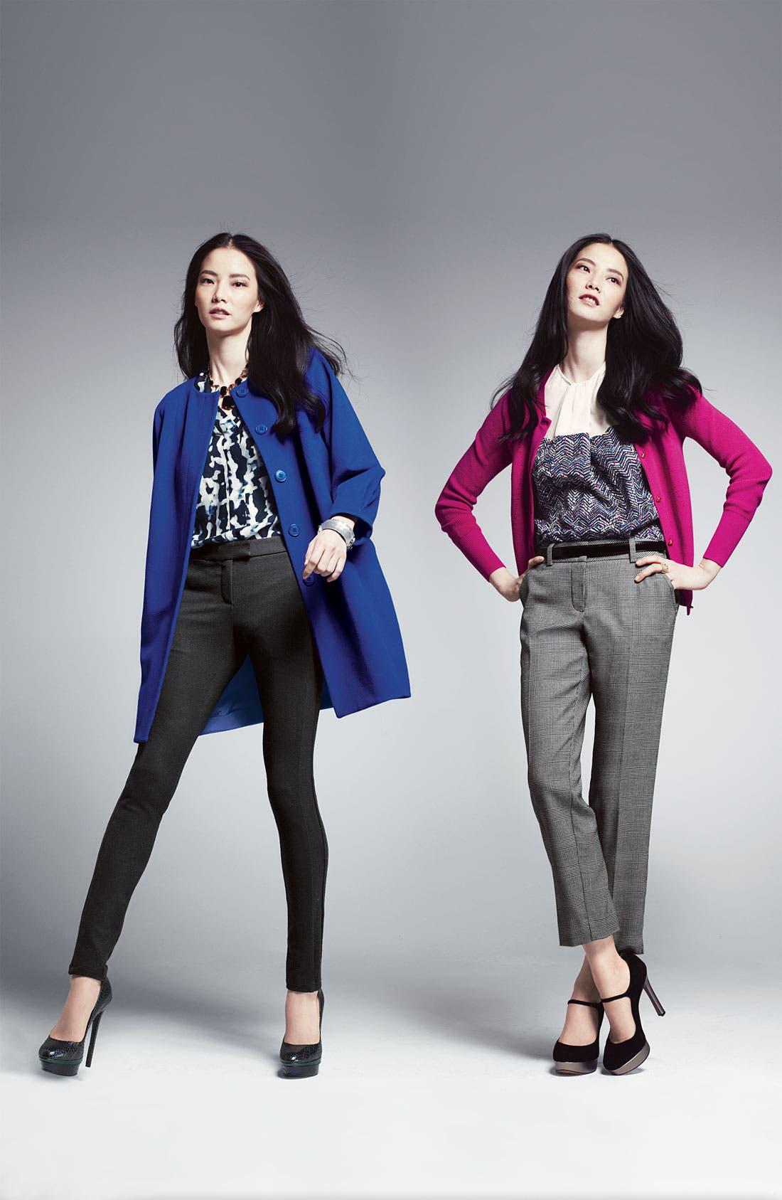 Alternate Image 4  - Theory 'Moha - Elegance' Silk Top