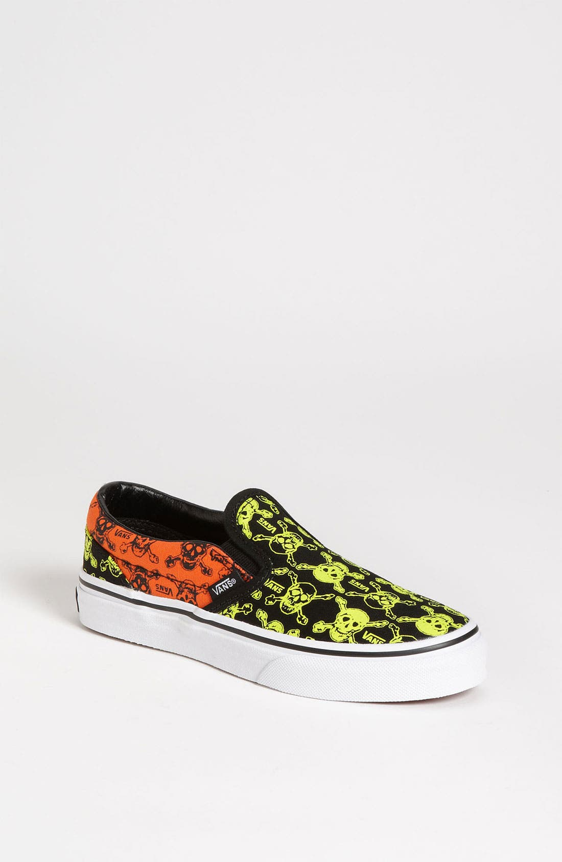 Alternate Image 1 Selected - Vans 'Skull' Slip-On (Toddler, Little Kid & Big Kid)
