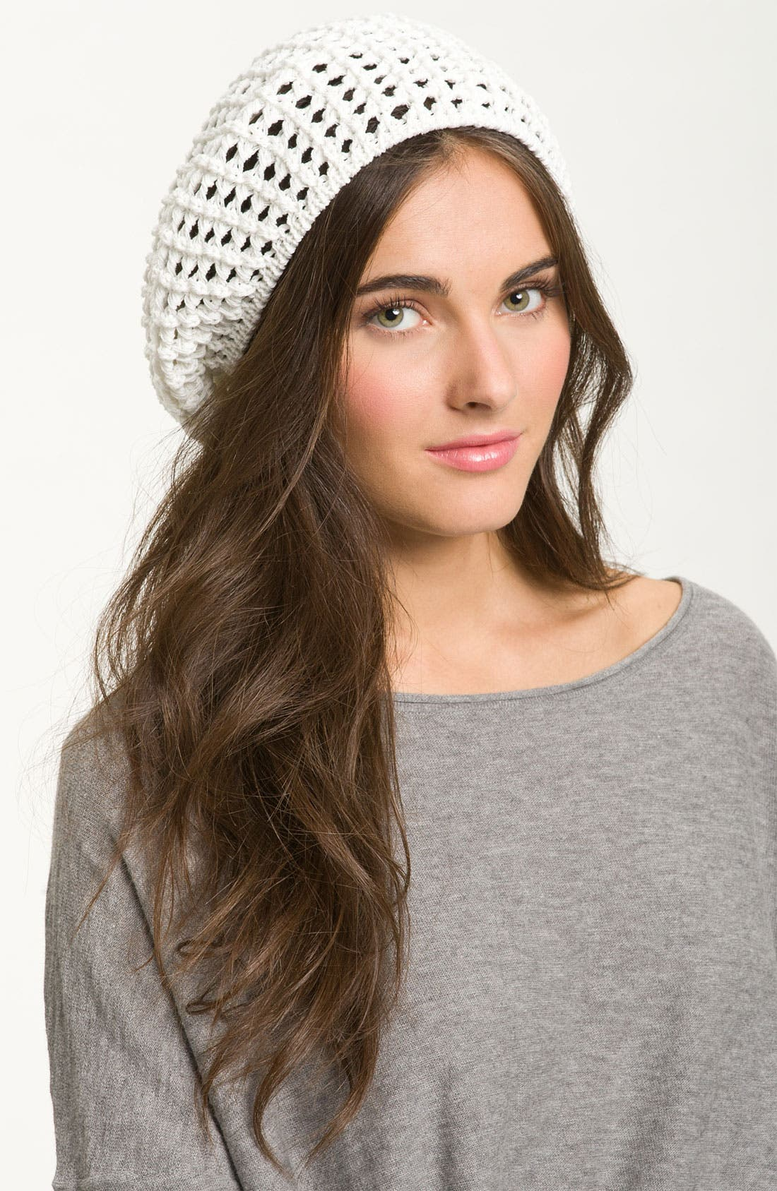 Alternate Image 1 Selected - Cara Crochet Beanie