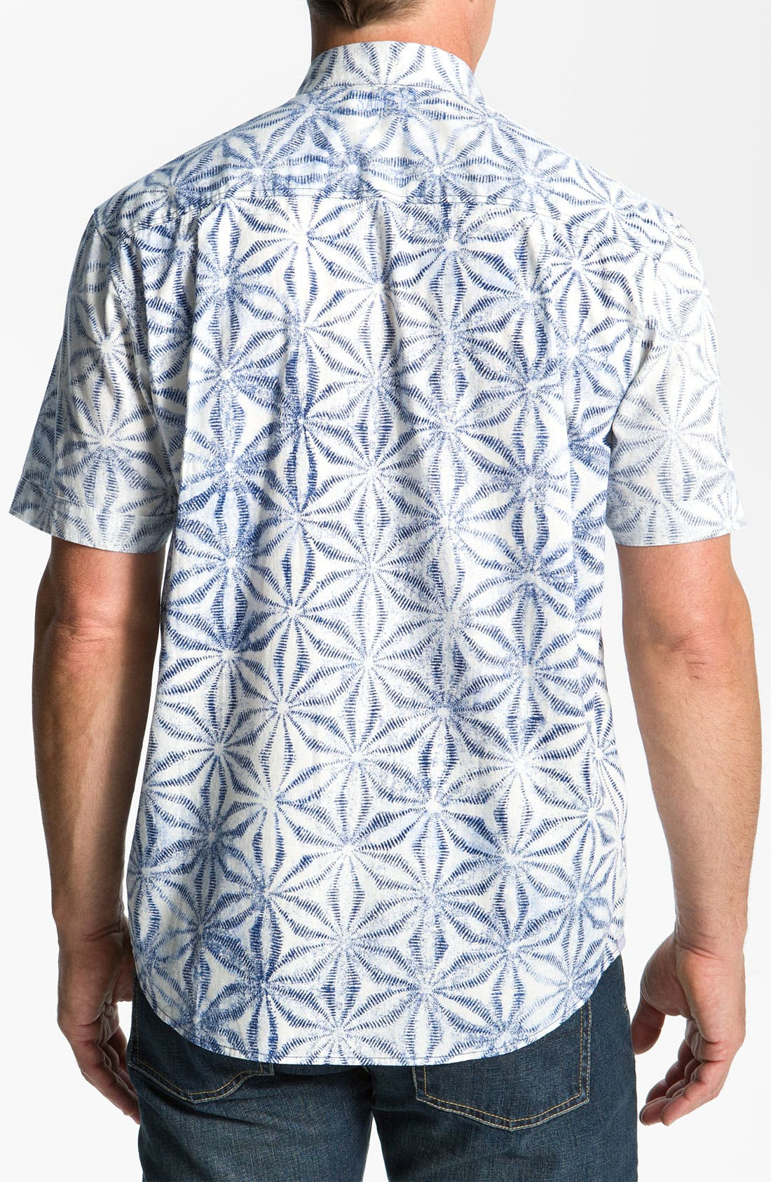 Alternate Image 2  - Tommy Bahama 'Blue Basil' Sport Shirt
