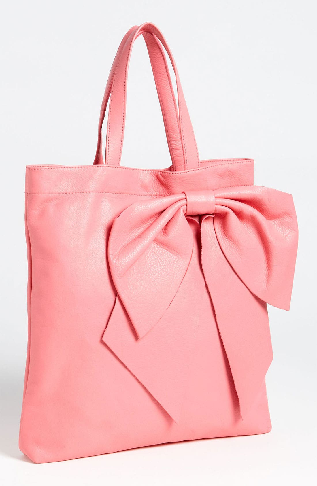 Main Image - RED Valentino 'Bow' Calfskin Tote