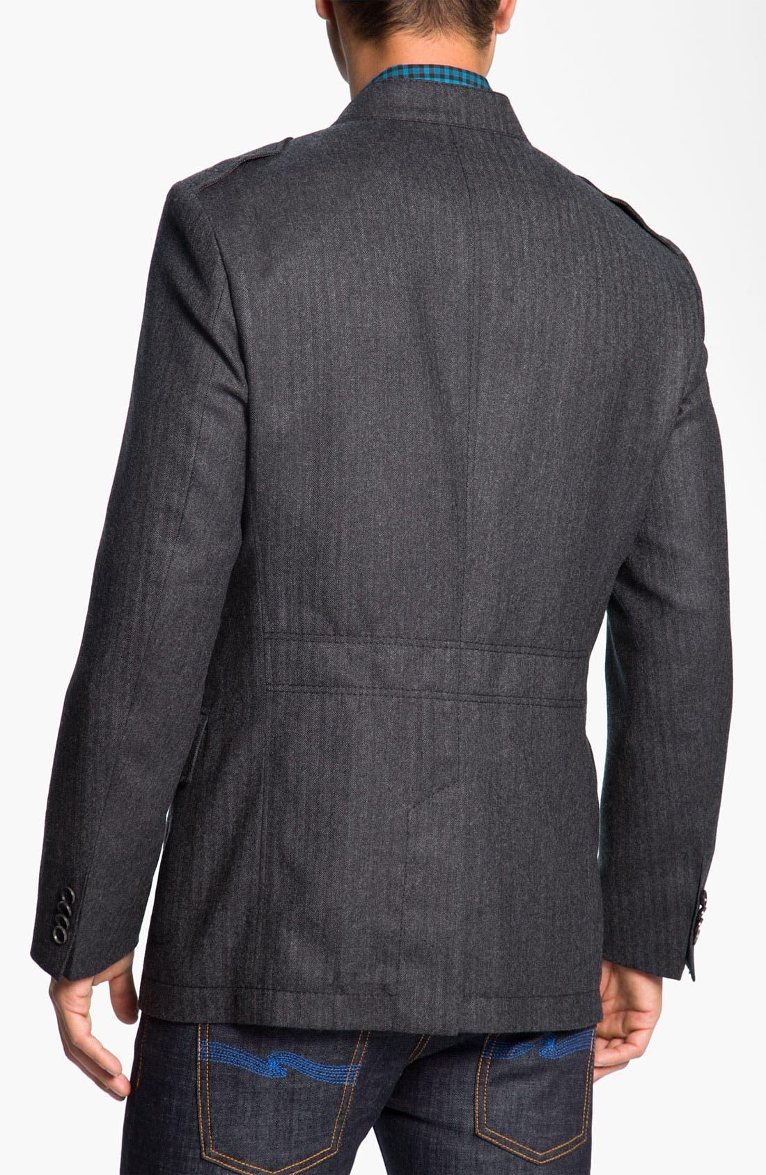 Alternate Image 2  - BOSS Black 'Harper' Herringbone Field Jacket