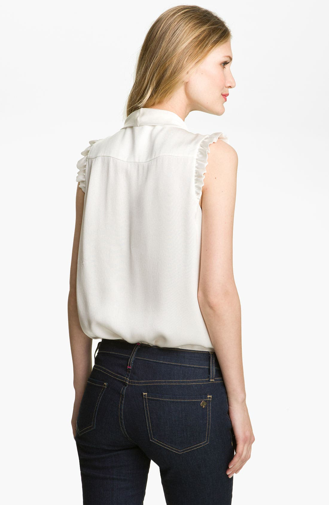 Alternate Image 2  - kate spade new york 'morgan' silk top