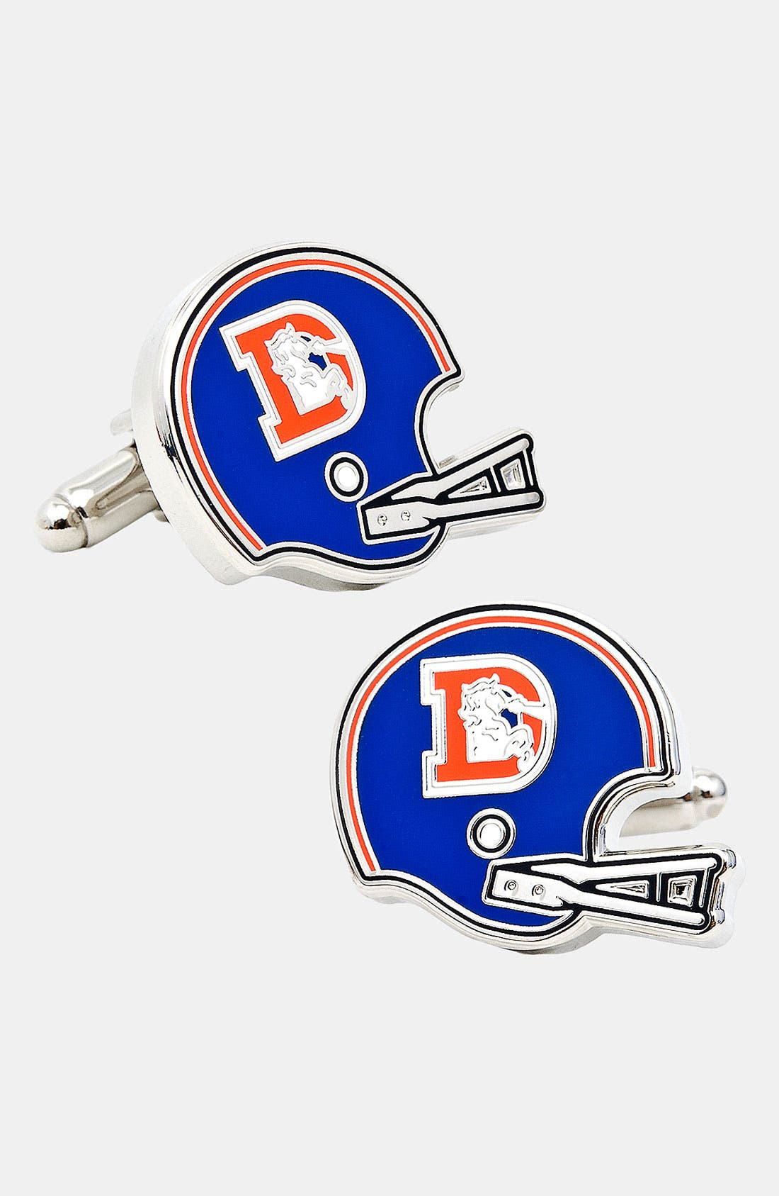 Main Image - Cufflinks, Inc. 'Retro Denver Broncos' Cuff Links