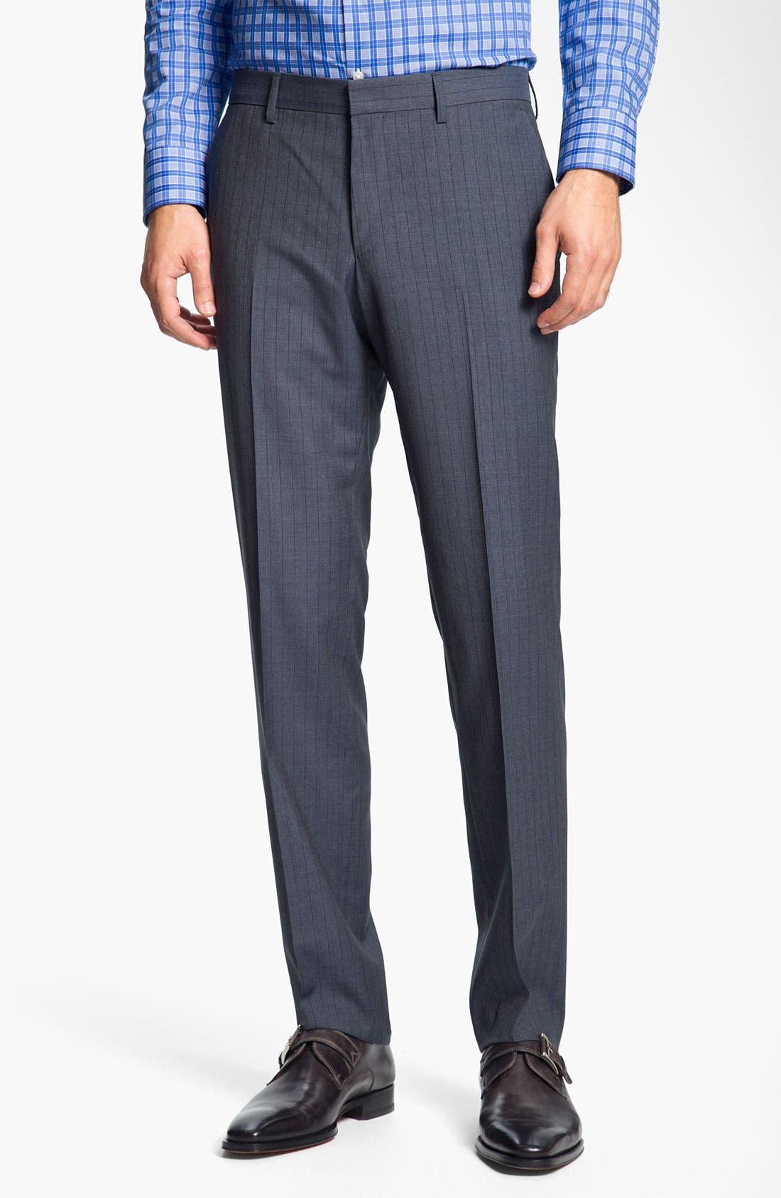 Alternate Image 4  - BOSS Black 'Huge/Genius' Stripe Suit