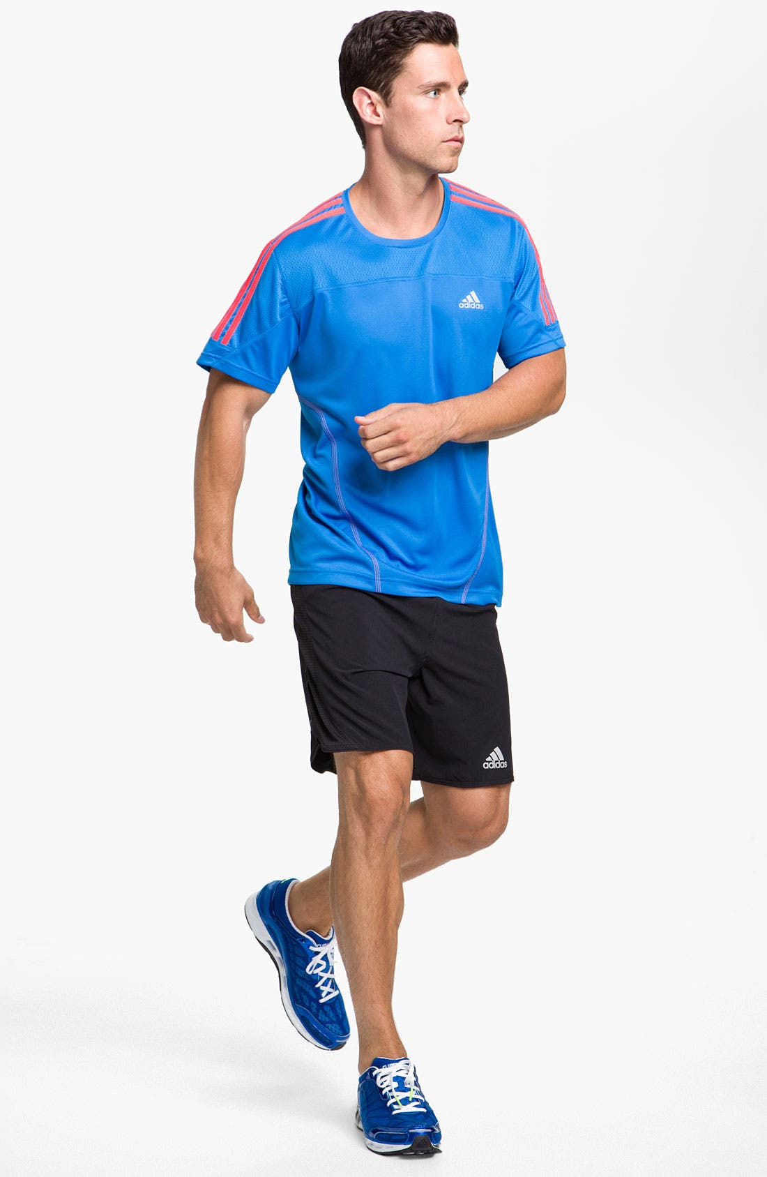 Alternate Image 4  - adidas 'Response Drei Streifen' T-Shirt