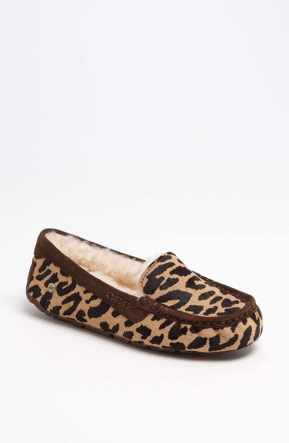 Alternate Image 1 Selected - UGG® Australia 'Ansley Exotic' Slipper (Women)