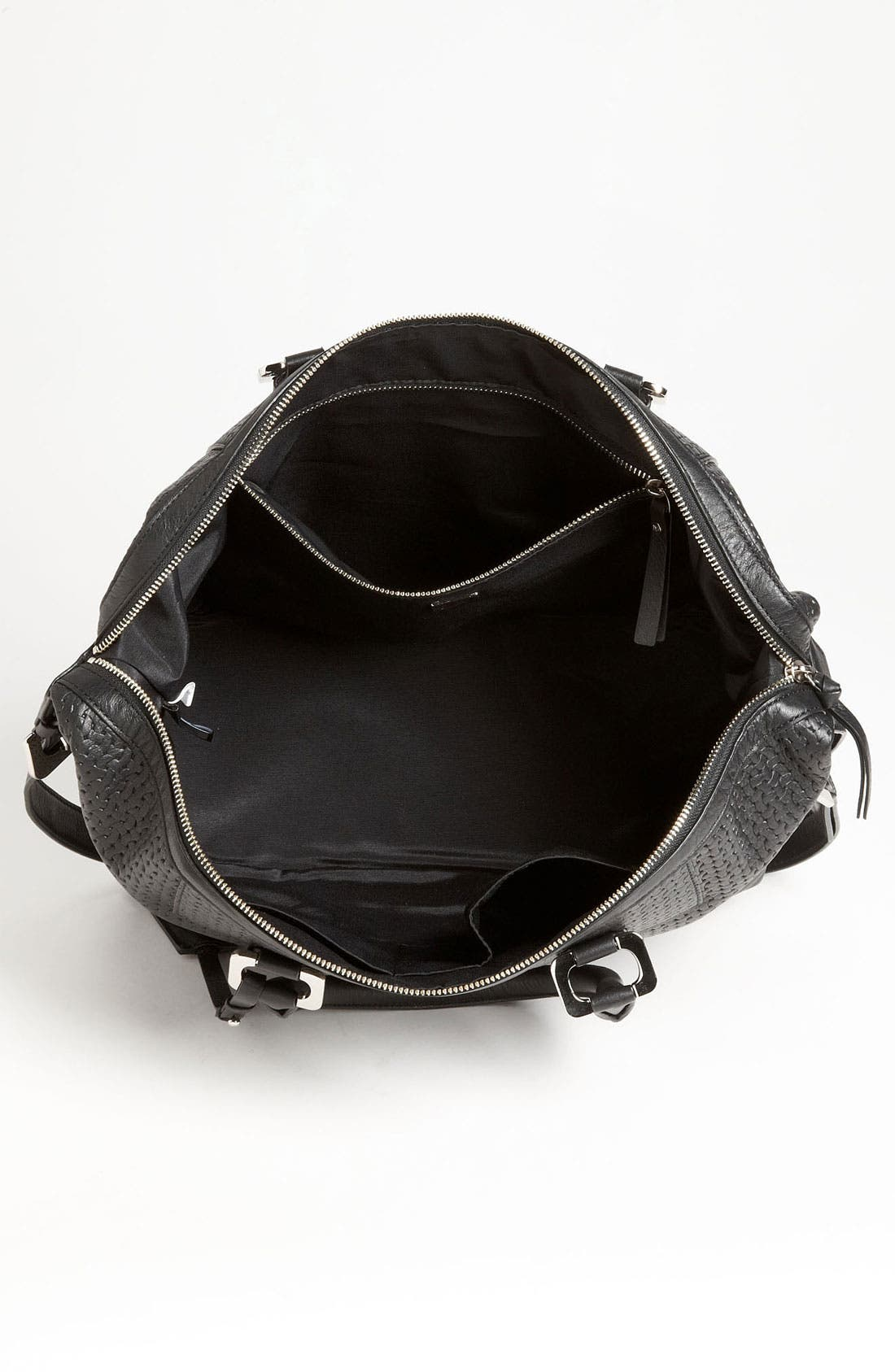 Alternate Image 3  - Diane von Furstenberg 'Drew' Basket Embossed Satchel