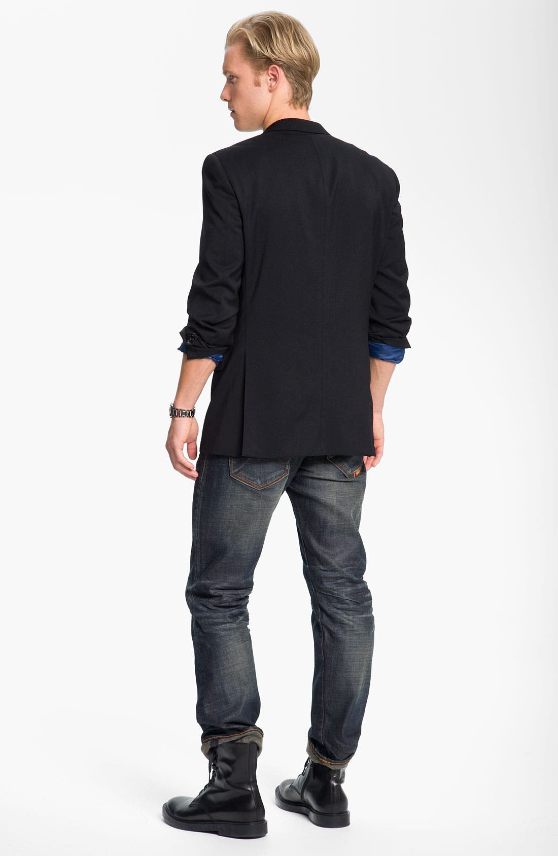 Alternate Image 5  - John Varvatos Star USA Wool Front Vest
