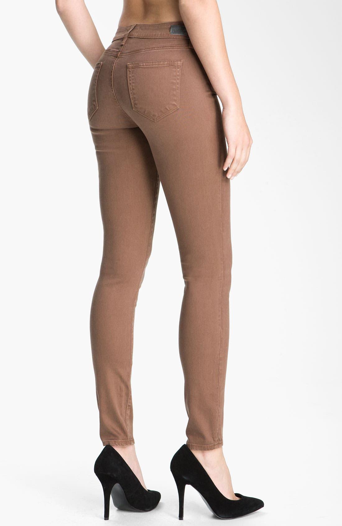 Alternate Image 2  - Paige Denim 'Verdugo' Skinny Stretch Jeans (Rothko)