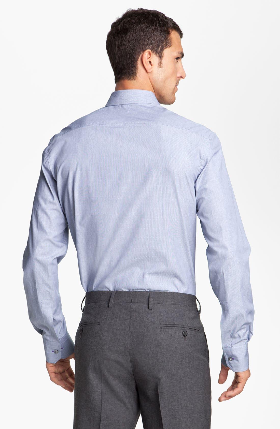 Alternate Image 2  - Paul Smith London Microdot Dress Shirt