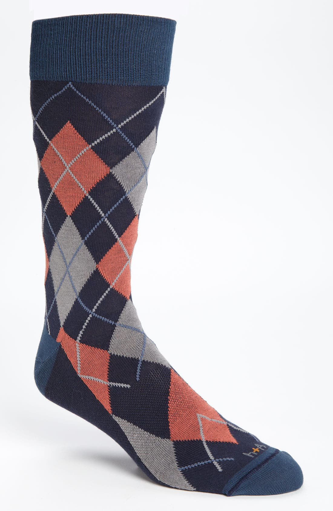 Main Image - hook + ALBERT Argyle Socks