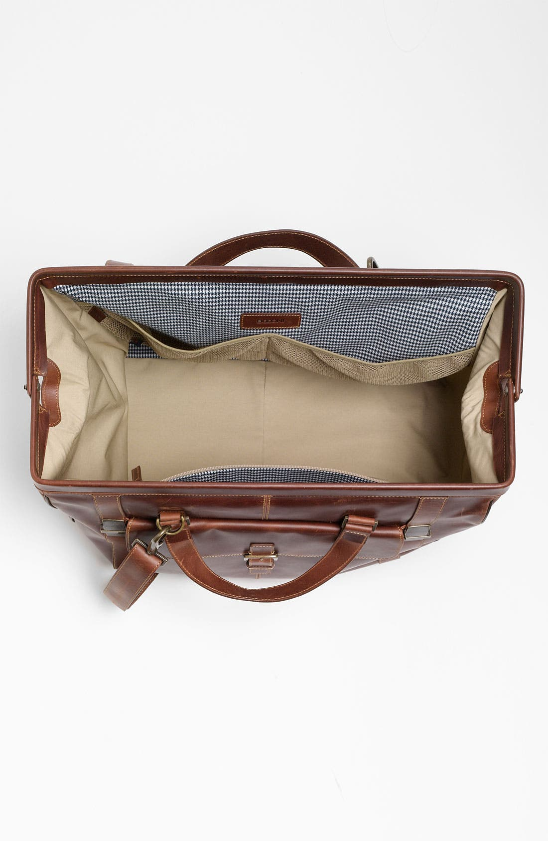 'Bryant' Duffel Bag,                             Alternate thumbnail 4, color,                             Antique Mahogany