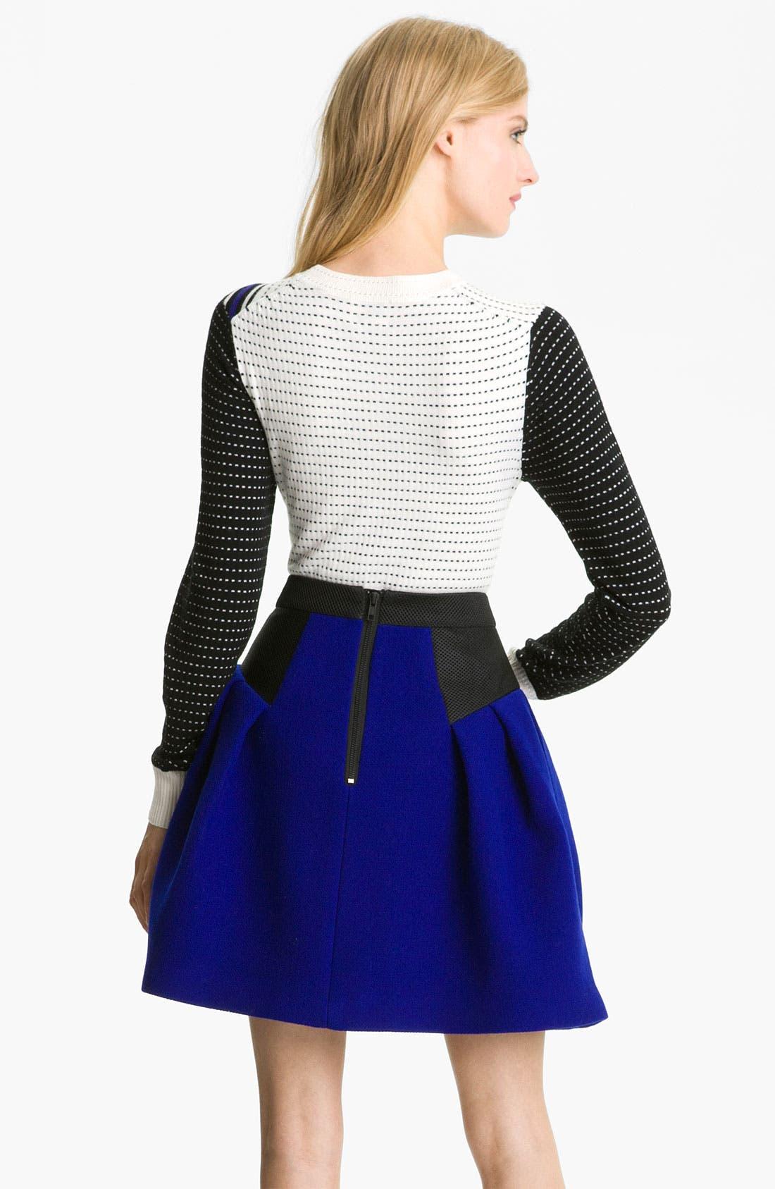 Alternate Image 2  - Milly 'Dakota' Merino Wool Sweater