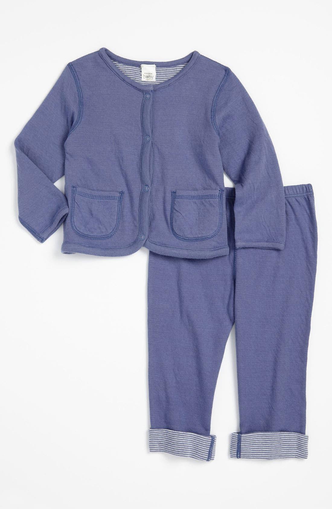 Alternate Image 1 Selected - Nordstrom Baby Reversible Jacket & Leggings (Infant)
