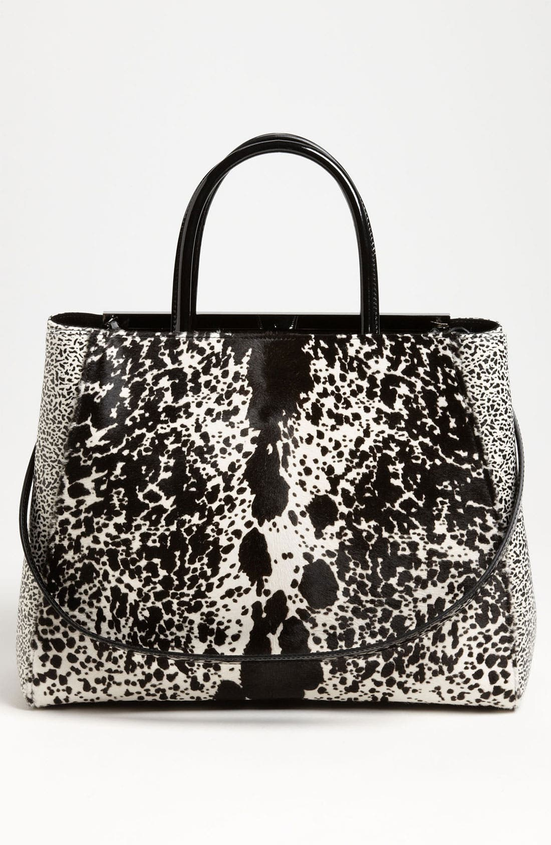 Alternate Image 4  - Fendi '2Jours' Calf Hair Shopper