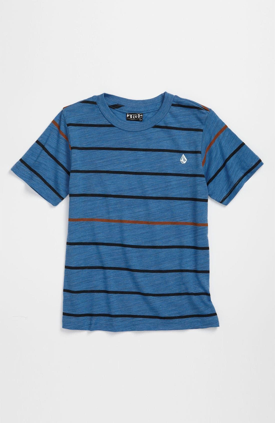 Alternate Image 1 Selected - Volcom 'Knock Stripe' T-Shirt (Little Boys)