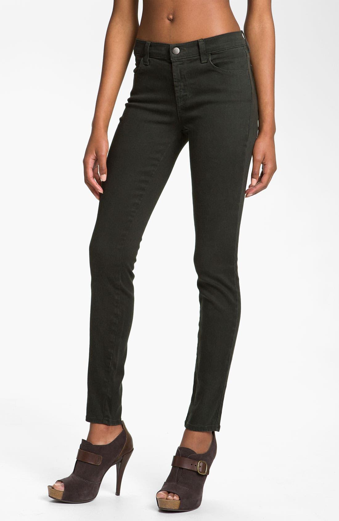 Main Image - J Brand Overdyed Skinny Leg Jeans