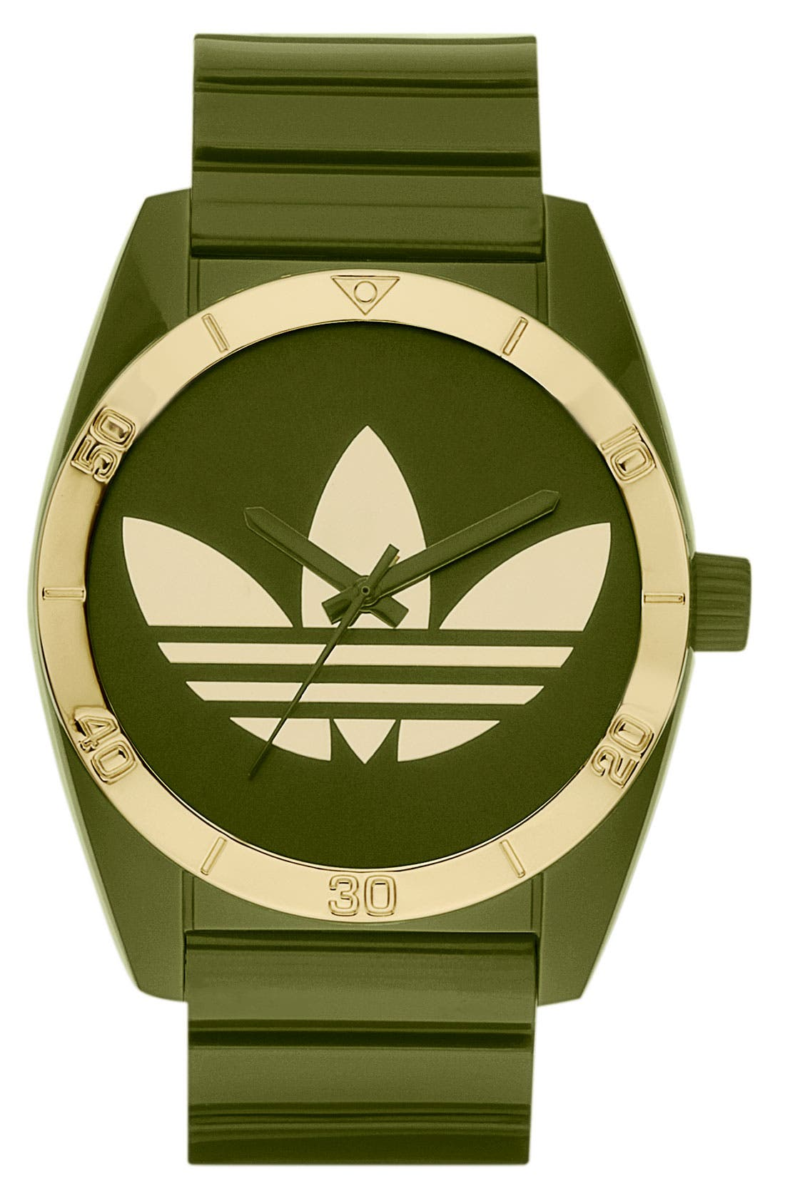 Main Image - adidas Originals 'Santiago' Polyurethane Strap Watch