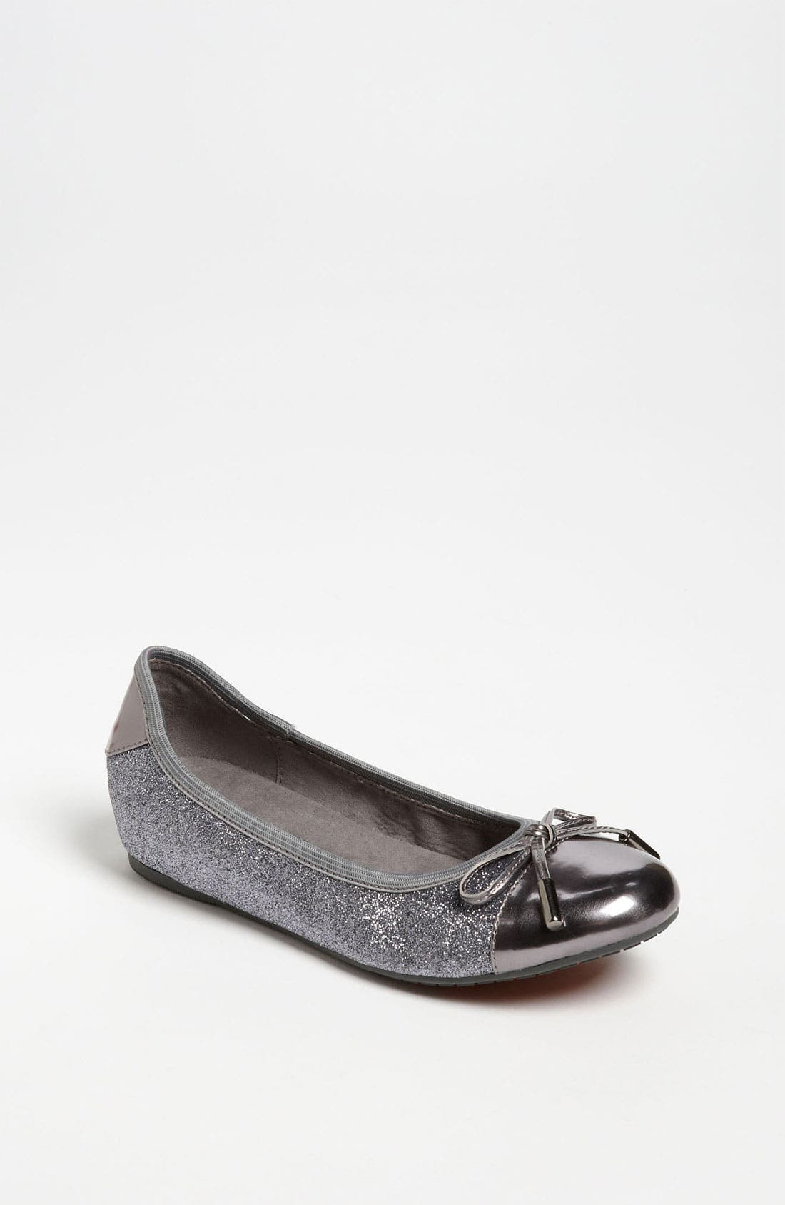 Alternate Image 1 Selected - MICHAEL Michael Kors 'Josie' Flat (Toddler, Little Kid & Big Kid)