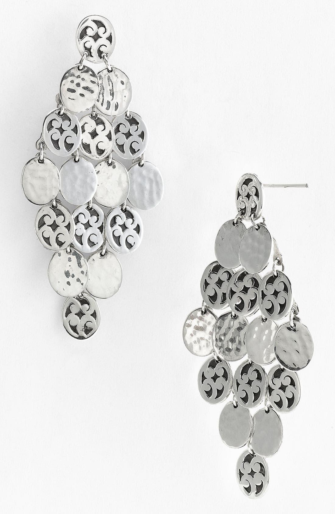 Main Image - Lois Hill 'Summer Shimmer' Disc Chandelier Earrings
