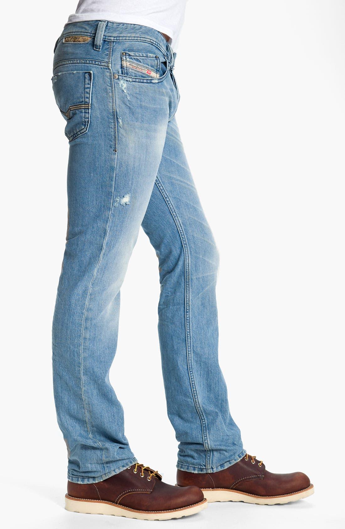 Alternate Image 3  - DIESEL® 'Safado' Straight Leg Jeans (0802I)