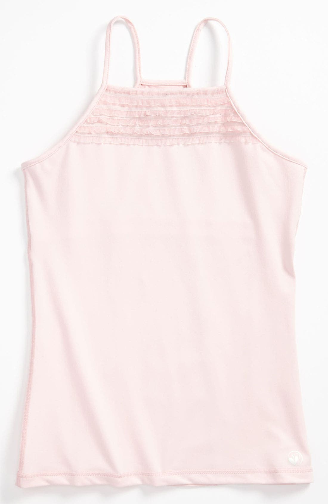 Main Image - Limeapple Dance Ruffle Tank Top (Big Girls)