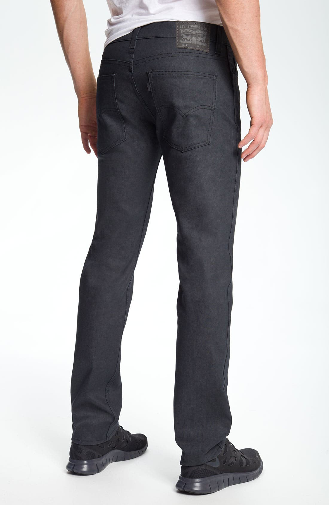 Main Image - Levi's® '511' Slim Fit Jeans (Anthracite)