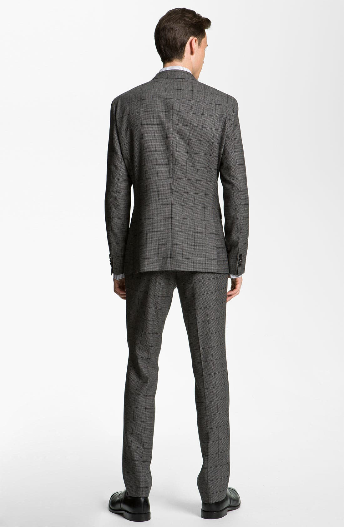 Alternate Image 3  - BOSS Black Extra Trim Fit Double Breasted Suit