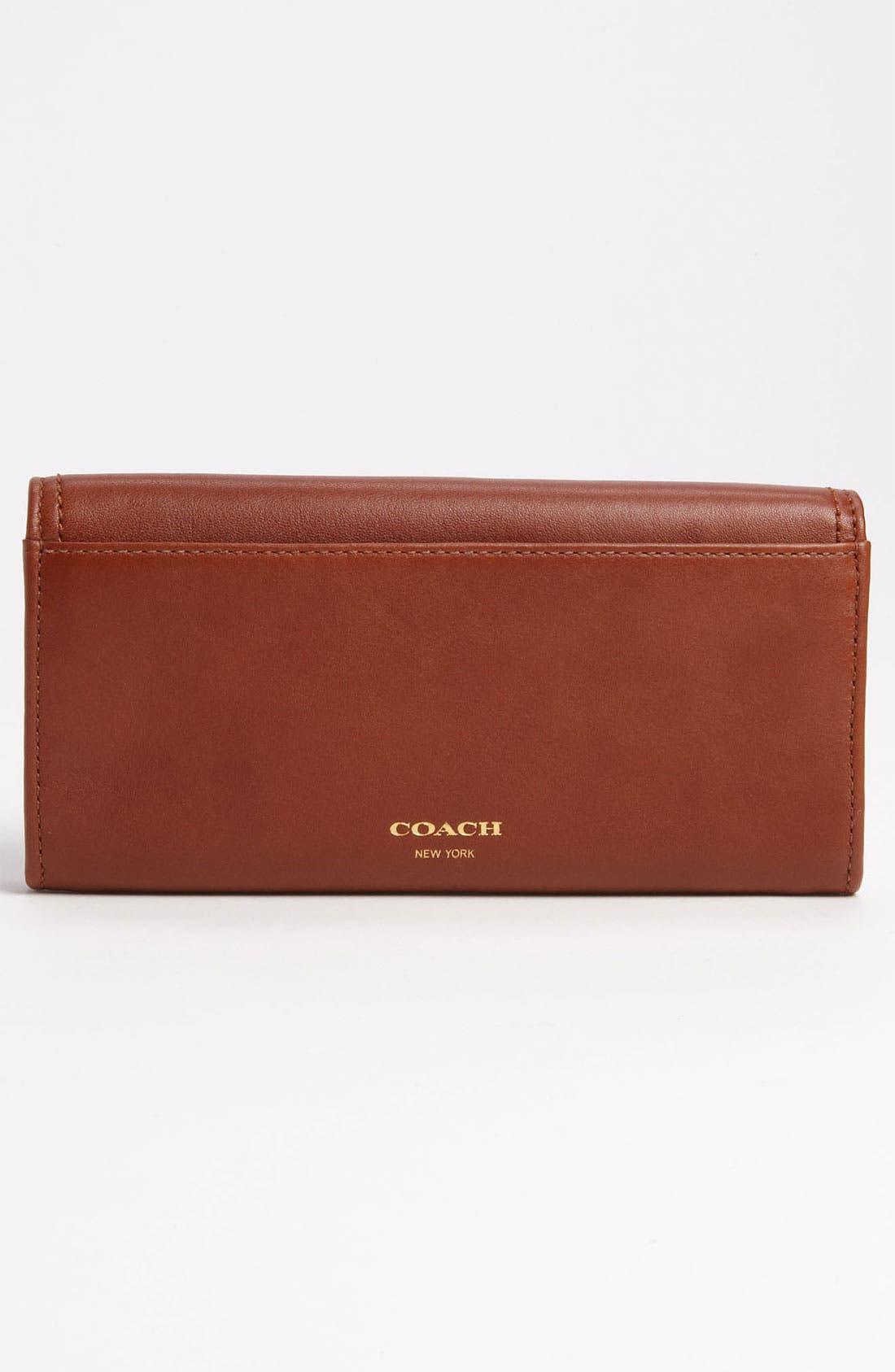 Alternate Image 4  - COACH 'Legacy - Slim' Leather Envelope Wallet