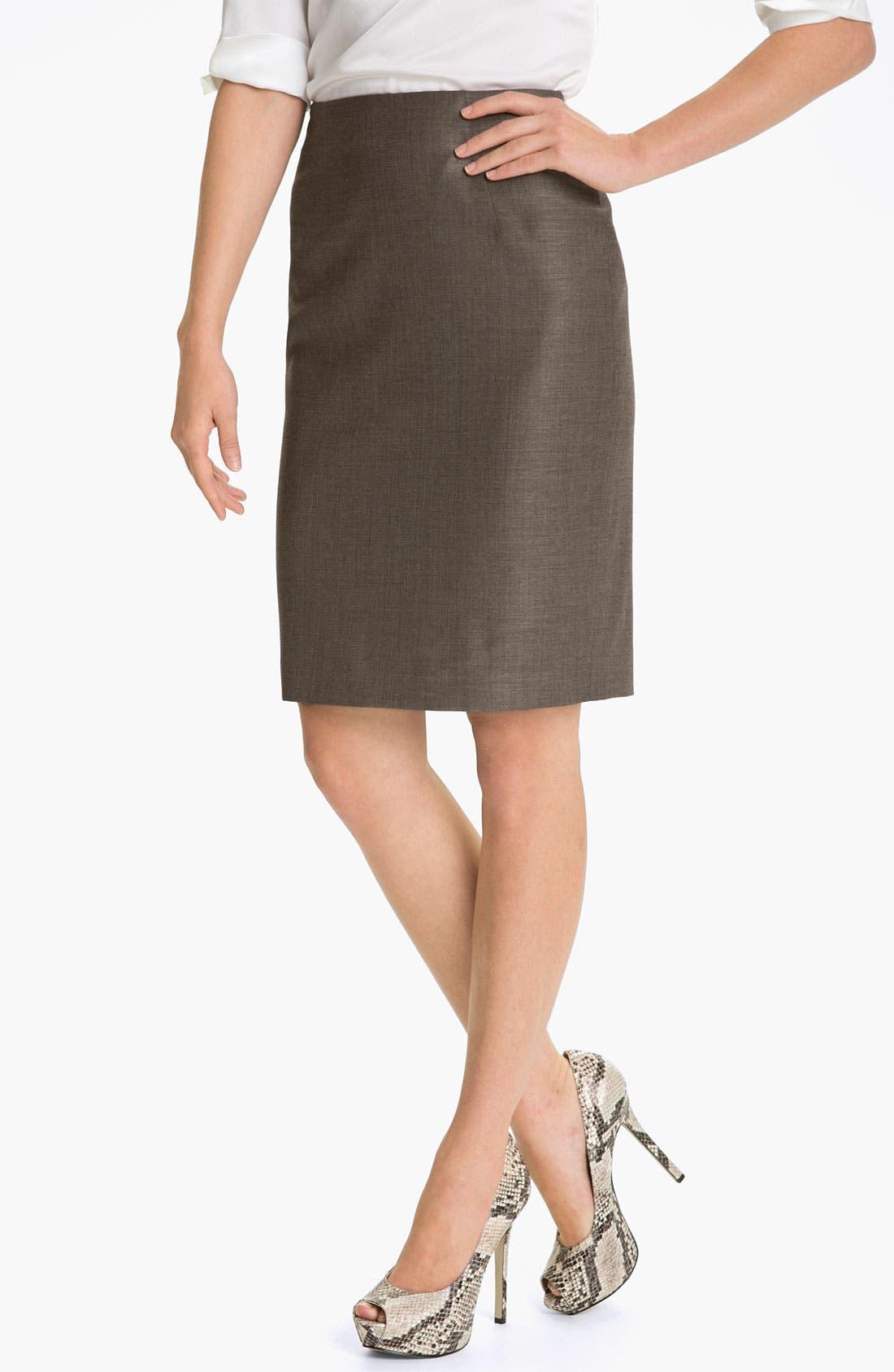 Alternate Image 1 Selected - BOSS HUGO BOSS 'Vilina' Skirt