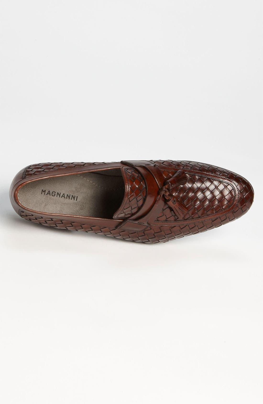 Alternate Image 3  - Magnanni 'Oscar' Woven Tassel Loafer (Online Only)