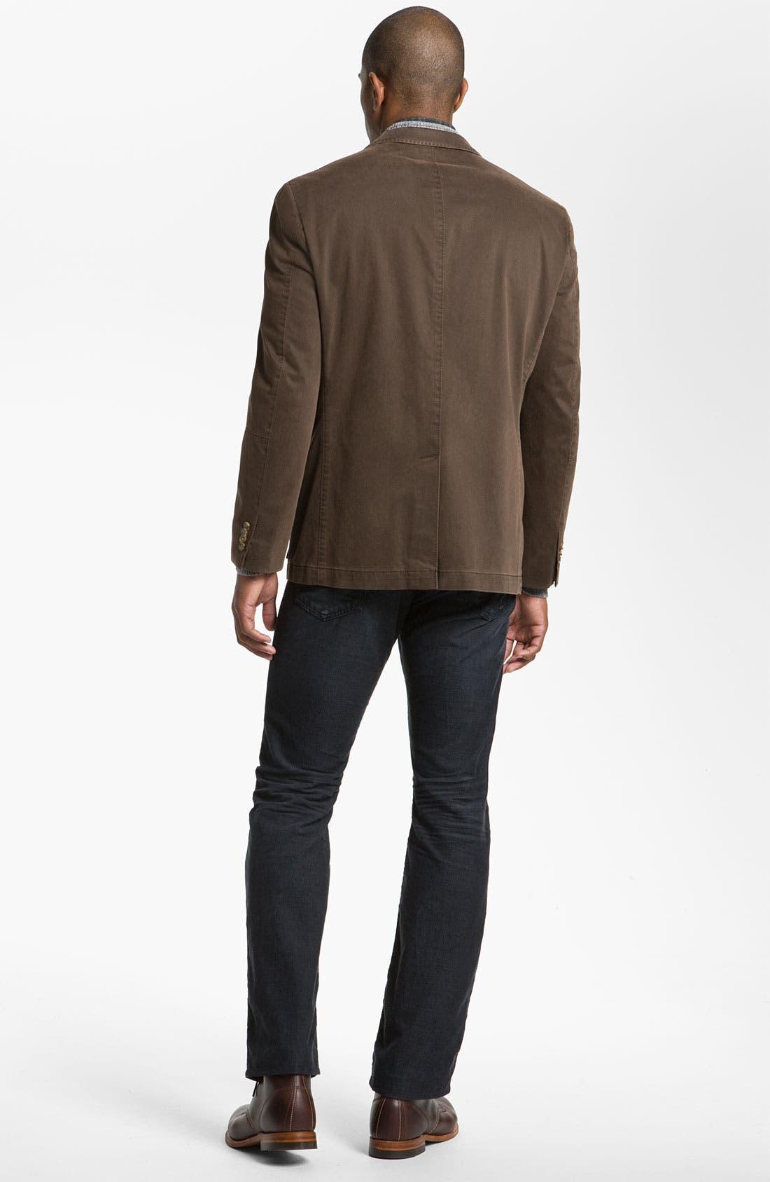 Alternate Image 5  - Kroon 'Matthews' Brushed Cotton Sportcoat
