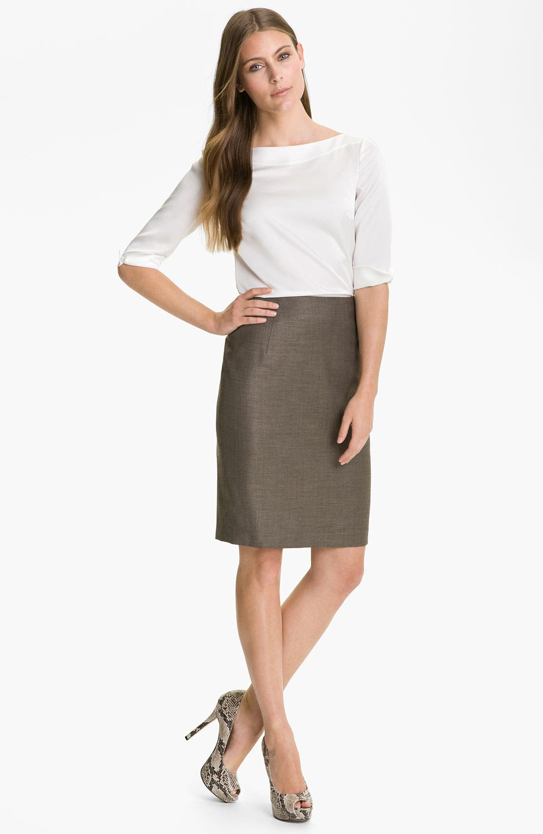 Alternate Image 4  - BOSS HUGO BOSS 'Vilina' Skirt