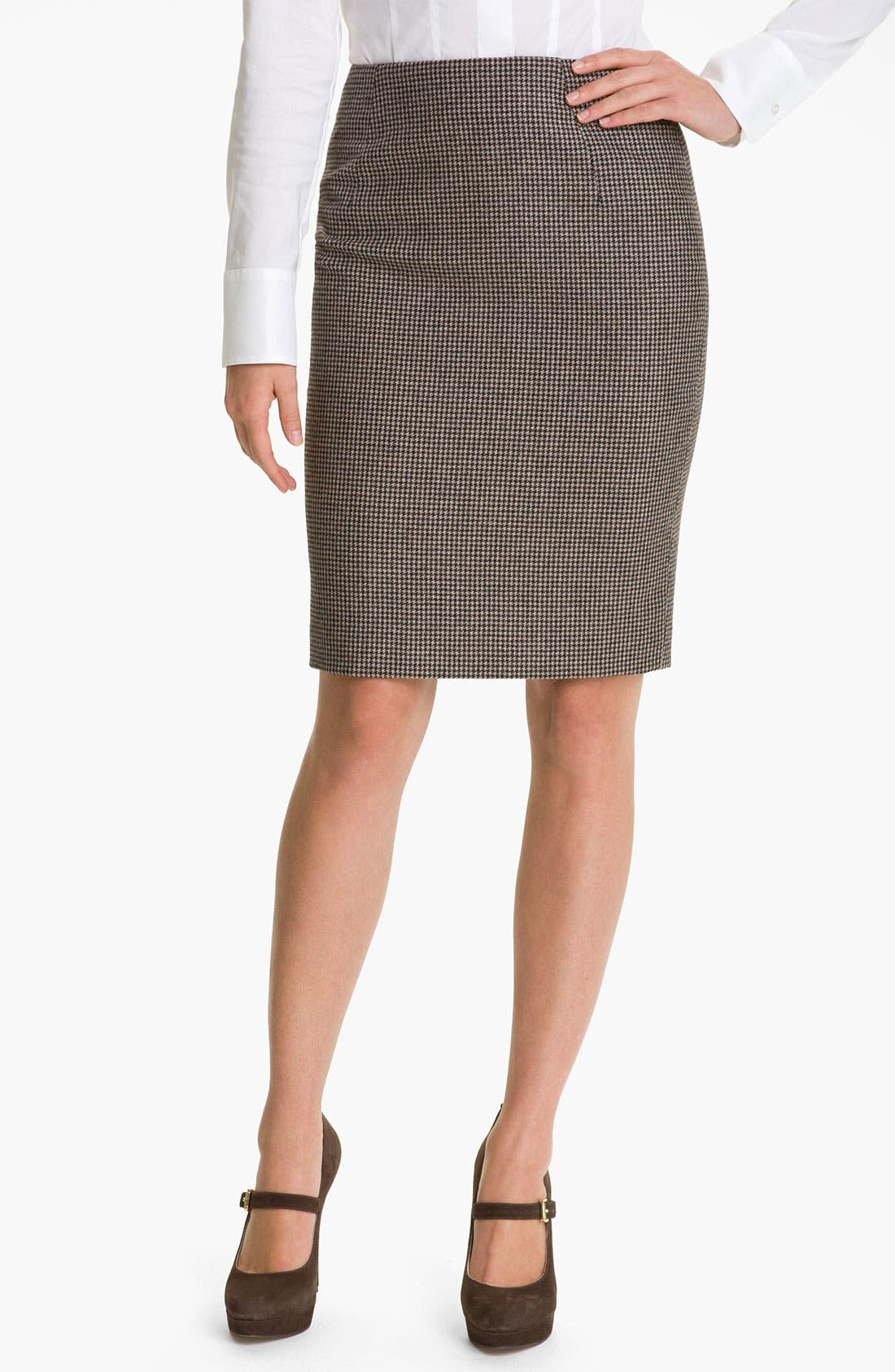 Alternate Image 1 Selected - BOSS Black 'Vilina' Skirt