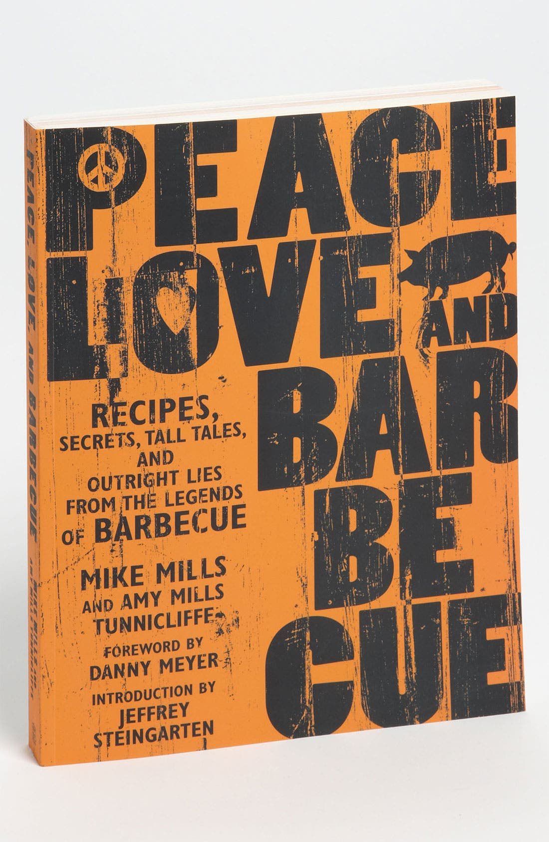 Alternate Image 1 Selected - 'Peace, Love and Barbecue' Cookbook