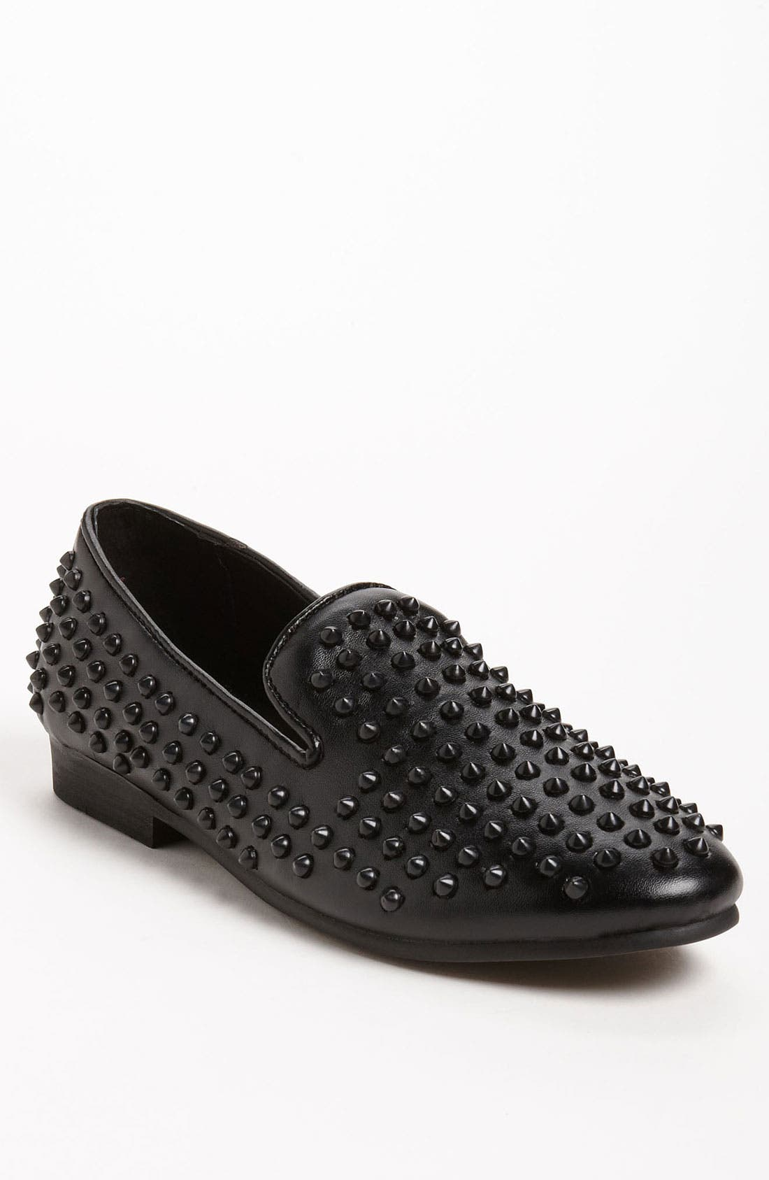 Alternate Image 1 Selected - Steve Madden 'Jagggrr' Studded Loafer