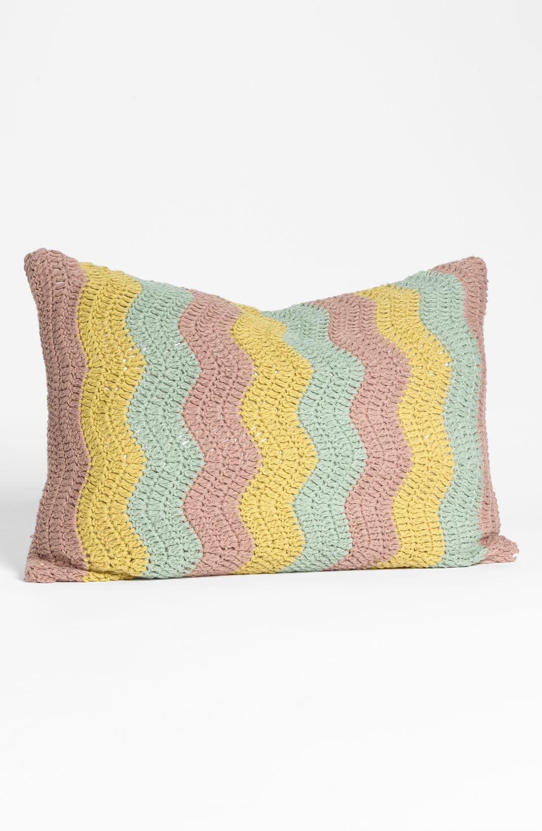 Main Image - Nordstrom at Home 'Ric Rac' Crochet Pillow
